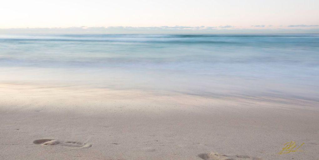 Bondi Beach Footprint Sydney Landscape Photography