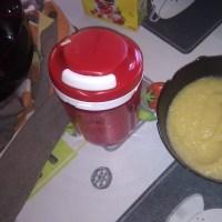 Recette : Compote banane et pommes