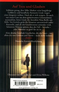 Breach of Promise German Edition Back