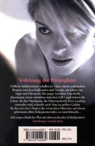Invasion of Privacy Paperback German Edition Back