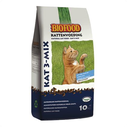 kattenvoeding-biofood 10 kg