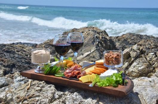 Repas à la plage