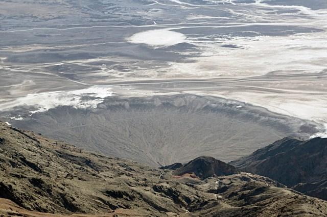 Abanico aluvial en el Valle de la Muerte