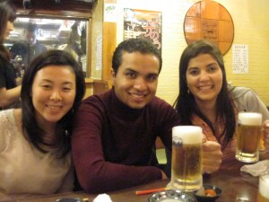 Akiko-san, Jean y yo