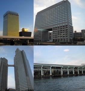 Edificios emblemáticos de Tokio
