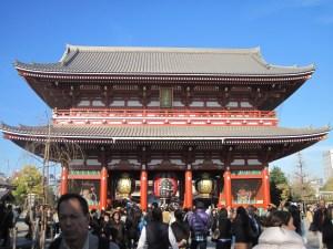 Puerta del Trueno o Kaminarimon, templo Senso-ji