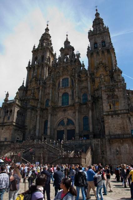 Plaza de Obradoiro y Catedral de Santiago de Compostela