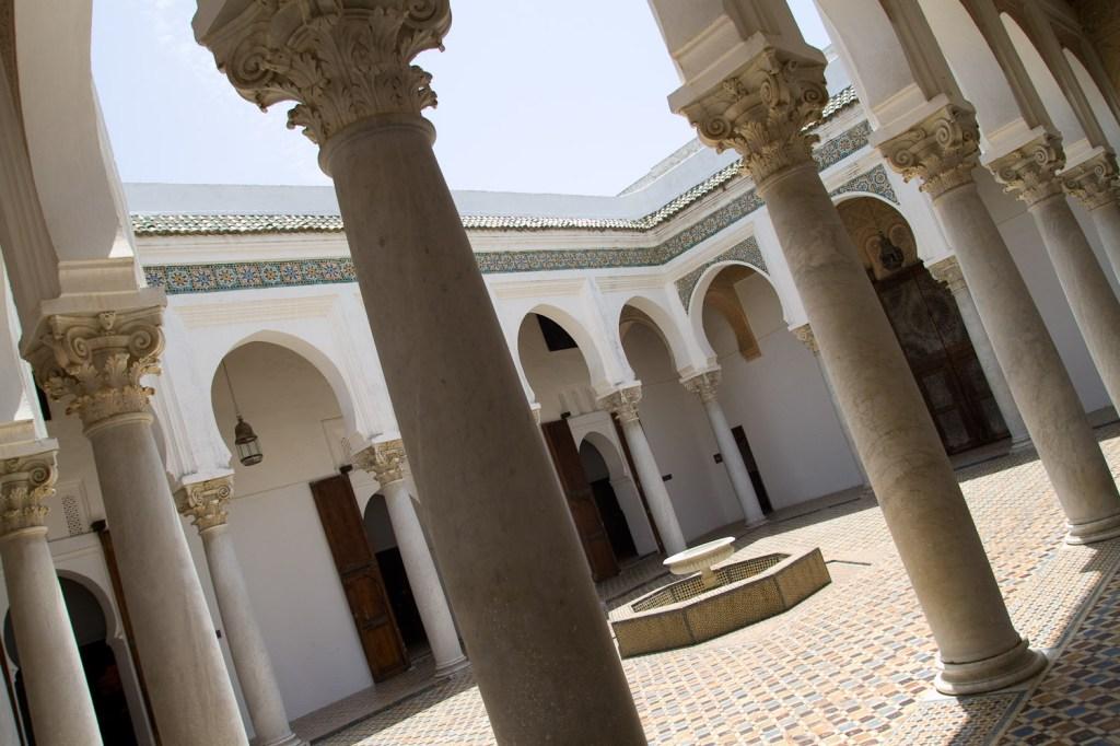 Patio interior en el Museo de la Kasbah 1 - Tánger, Marruecos