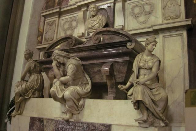 Tumba de Miguel Ángel en la Santa Croce, Florencia