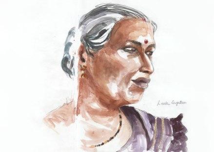 une femme de la famille de Suddha