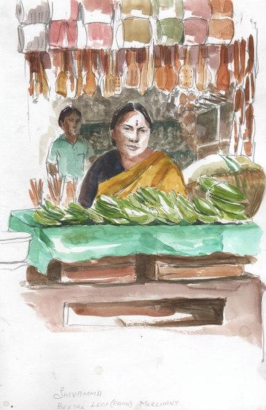 vendeuse de betel