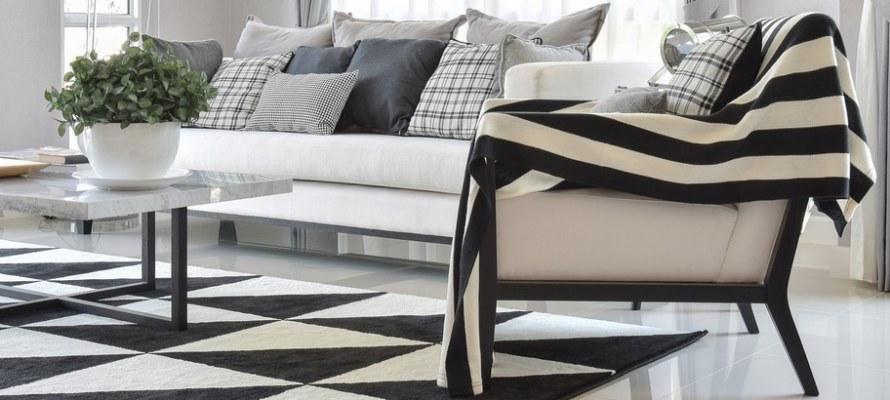 Utah home builder modern living room