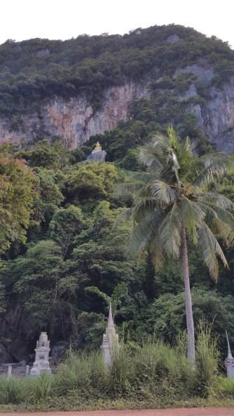 Karst in Tha Chana, Thailand