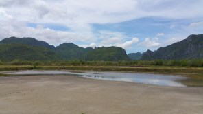 Karst in Sam roi yet, Prachuap Khiri Khan, Thailand