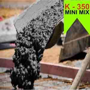 Mutu Beton K 350 Ready Mix