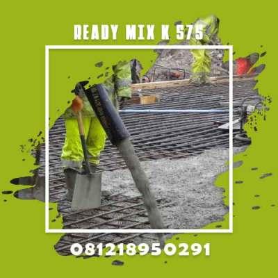 Mutu Beton K 375 Ready Mix