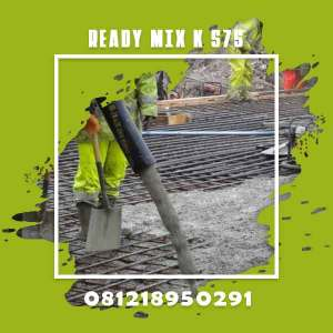 Mutu Beton K 375 Ready Mix