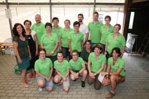 Für Speisen, Getränke und Service sorgte das Team des Gasthauses Walter Kahri mit den Mitgliedern des Musikvereins Murstetten