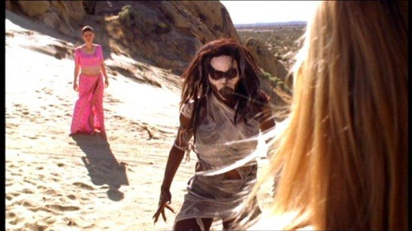 The First Slayer confronts Buffy