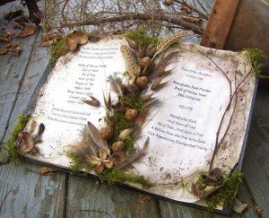 Decorative Spellbook by Oddsurd, $24.00