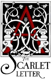 """Cover of """"The Scarlet Letter"""" by Nathaniel Hawthorne."""