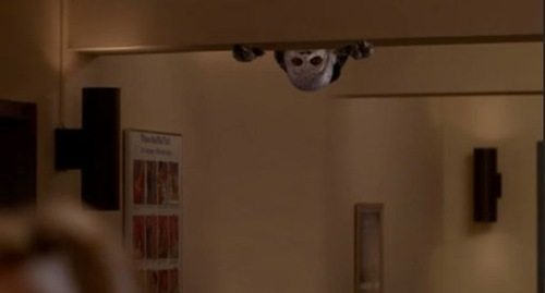 Queller demon on ceiling