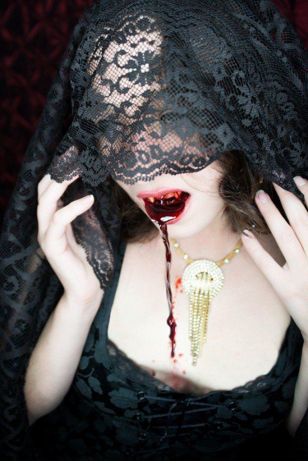 Vampire Model Faylin Lynx