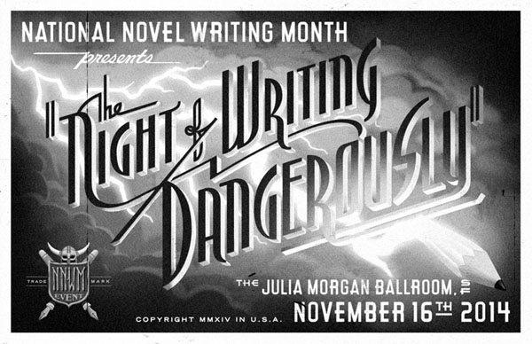 Night of Writing Dangerously Promo Poster
