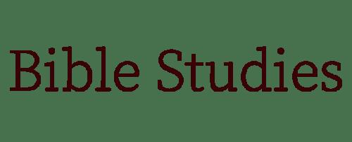 Bible Studies - Persevering Women