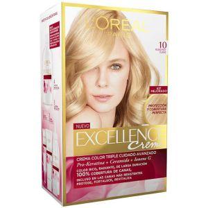 لوريال باريس صبغة الشعر الرائعة إكسيلانس كريم - 10 أشقر ثلجي فاتح