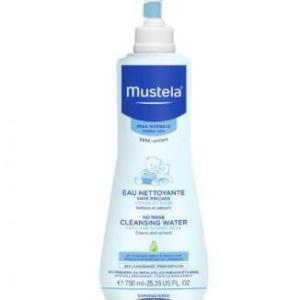 موستيلا بيبي منظف الوجه والحفاضات بدون ماء - 750 مل