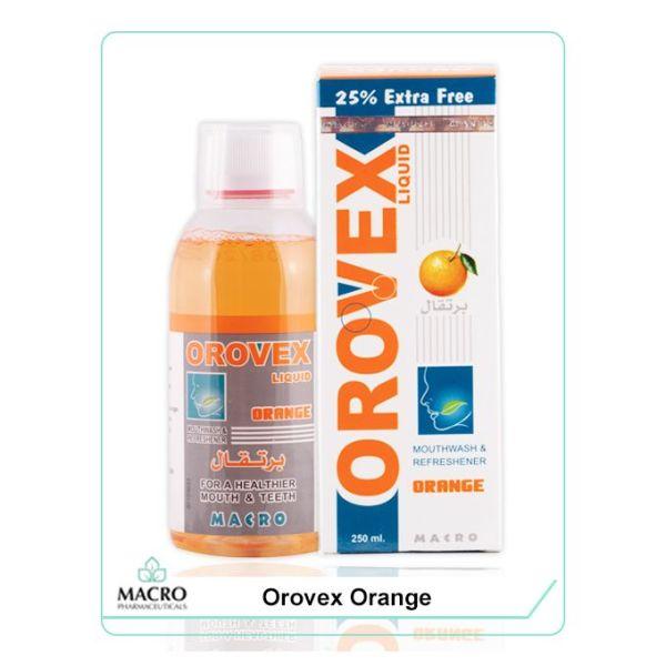 غسول الفم بالبرتقال - 250 مل Orovex