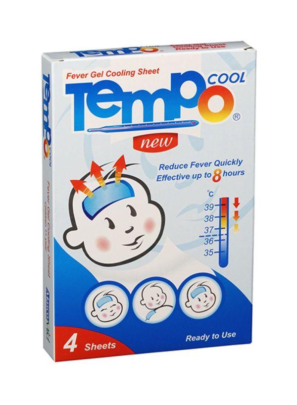 كمادات جل خافضة للحرارة تيمبو