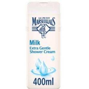 لو بوتي مارسيليه كريم استحمام بخلاصة الحليب - 400مل