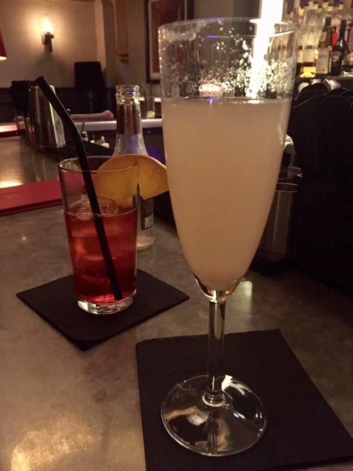 Cocktails in Morgan's Bar