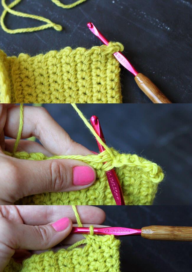 sew crochet pencil pouch
