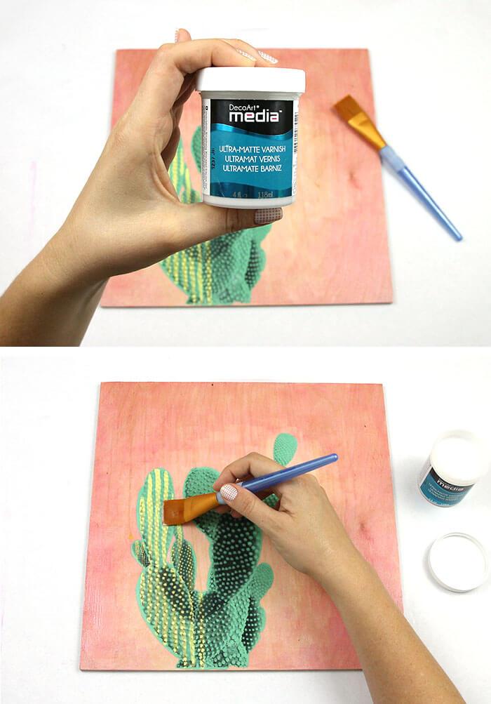 cactus art step six