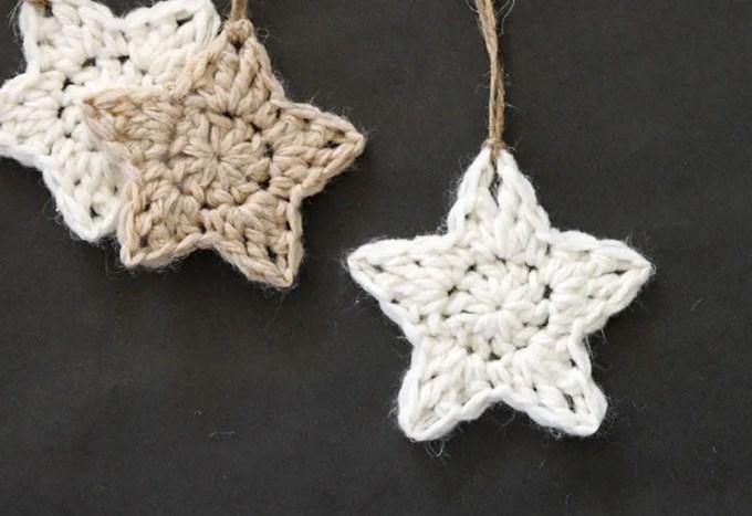 Easy Crochet Christmas Star Christmaswalls