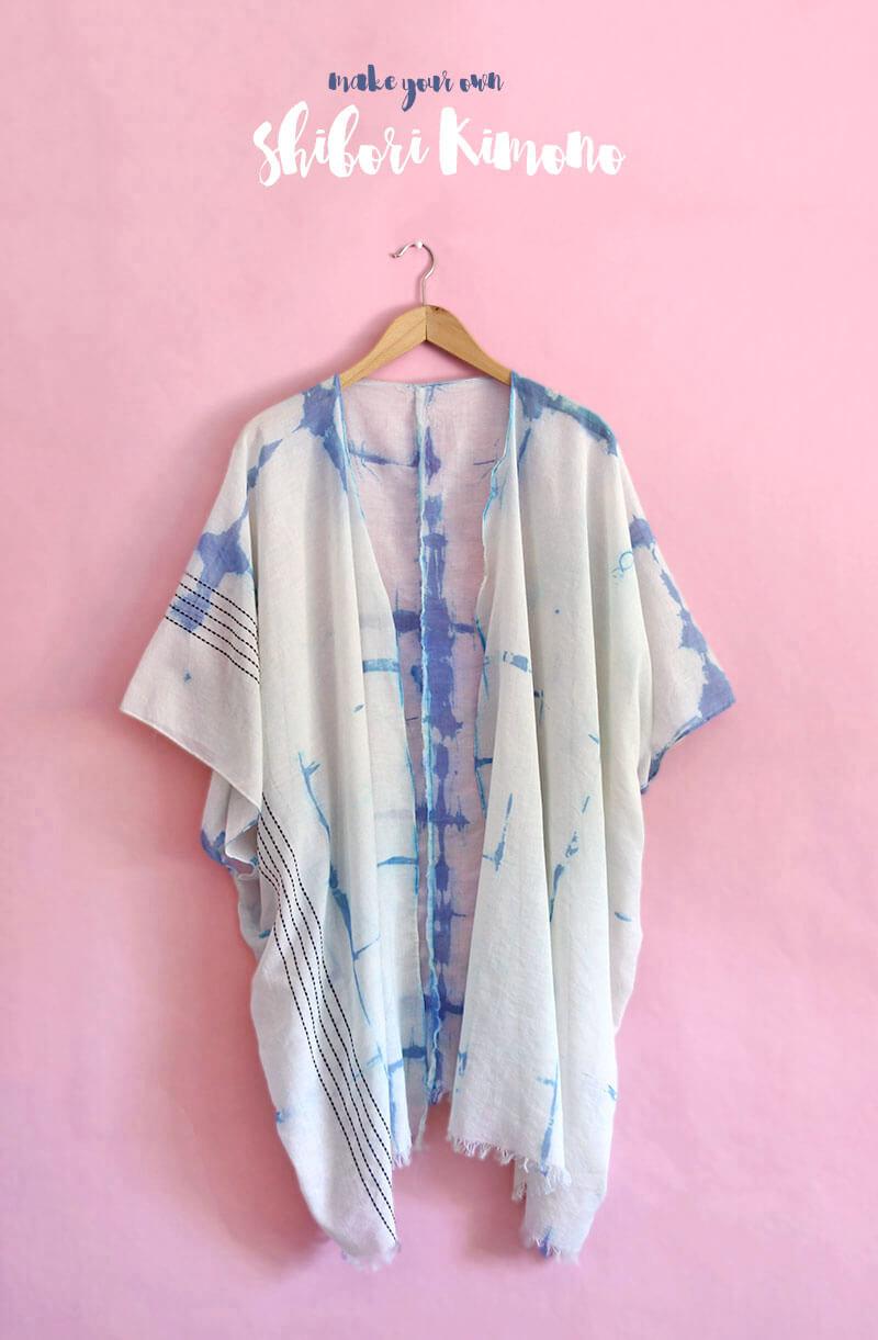 DIY Shibori Kimono At Crafts Unleashed Persia Lou