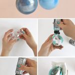How To Make Diy Marbled Ornaments Persia Lou