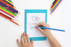 Printable Father's Day Card – Free Coloring Page for Dad