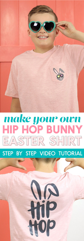make your own DIY cool boys easter shirt
