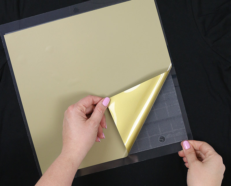 how to use heat transfer vinyl - which side to cut on