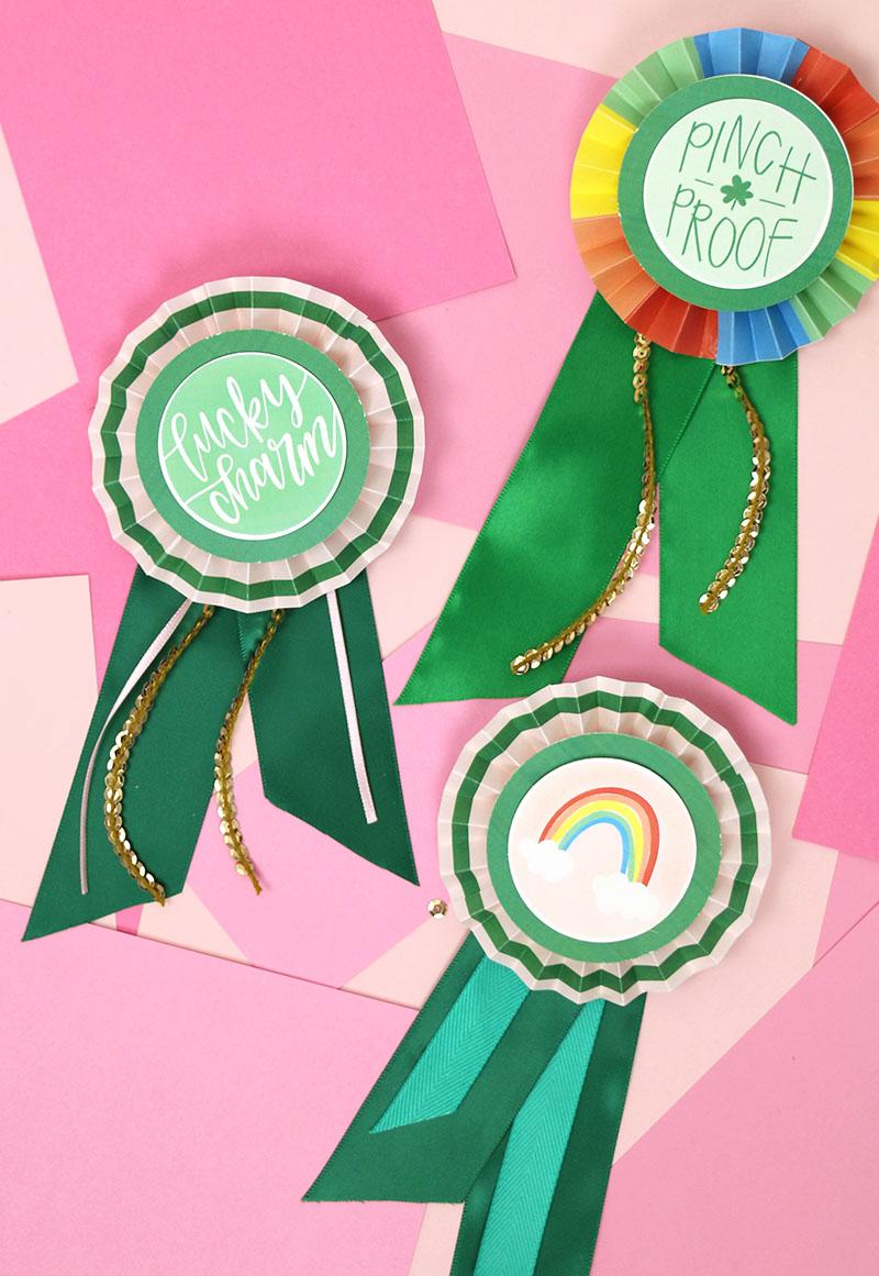 st. patrick's day ribbons