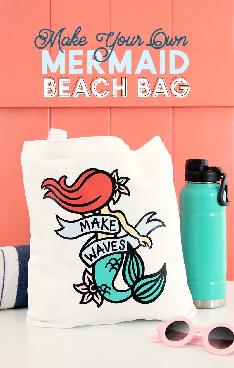 diy mermaid bag