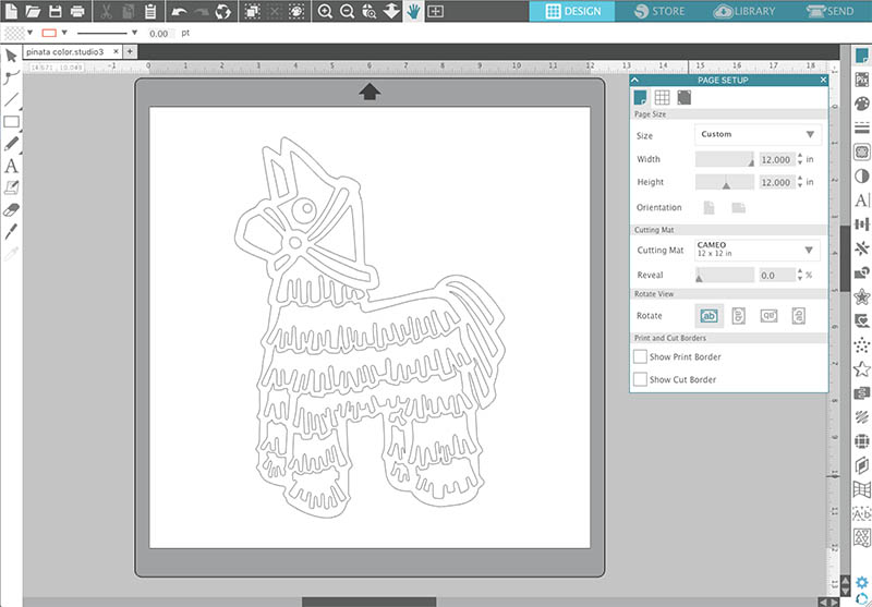 how to open a dxf file in silhouette studio