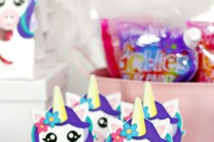 DIY Unicorn Party Favors: Free Printables!