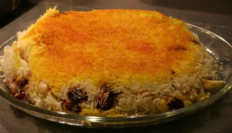 Best persian rice dish polow