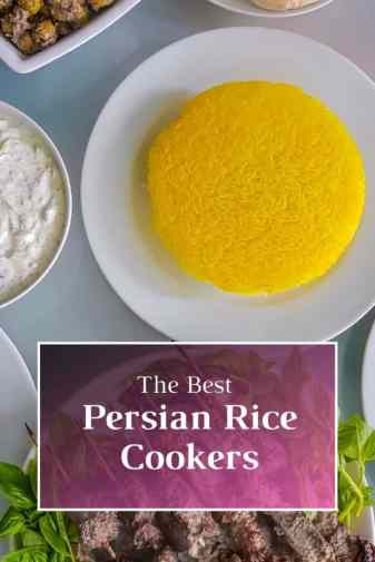The best Persian rice cookers. The best way to cook the perfect Persian rice with Tahdig is with a special Persian rice cookers.