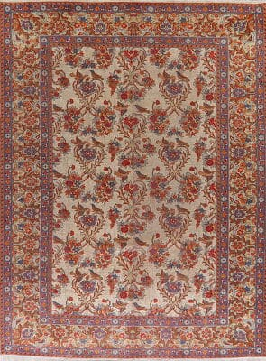 Persian Rug with Animal Patterns